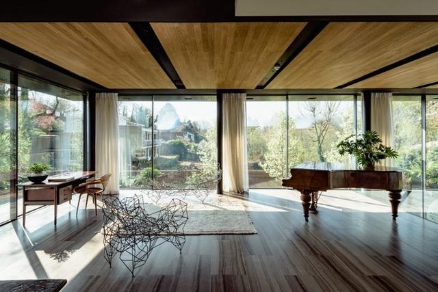 Đã mắt với vẻ đẹp ngôi nhà giữa rừng ngắm mãi không chán - 4