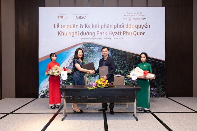 Địa ốc MGV phân phối độc quyền khu nghỉ dưỡng 6 sao Park Hyatt Phu Quoc - 1