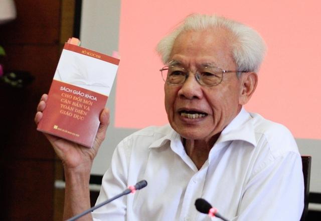 Ngày mai 3/1, Bộ GDĐT đối thoại về sách công nghệ của GS Hồ Ngọc Đại - 1