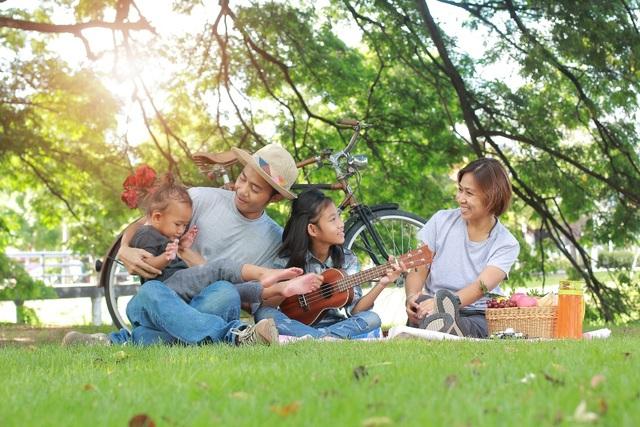 Không gian sống xanh tại đô thị vệ tinh được các gia đình trẻ lựa chọn - 2