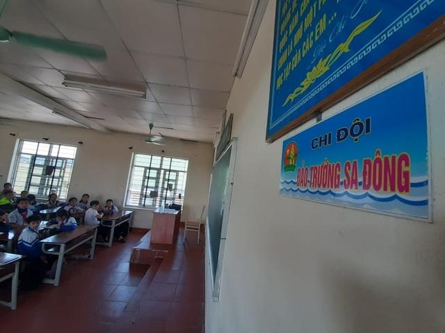 Ngôi trường đặt tên 16 lớp học theo các đảo ở Trường Sa, Hoàng Sa - 1