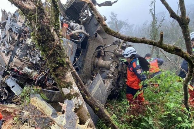 Chỉ huy lực lượng vũ trang Đài Loan thiệt mạng vì tai nạn trực thăng Black Hawk - 2