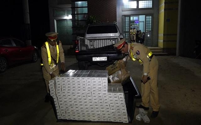 Quảng Bình: Bắt giữ xe container chở hàng chục ngàn khẩu súng đồ chơi thuộc danh mục cấm - 3