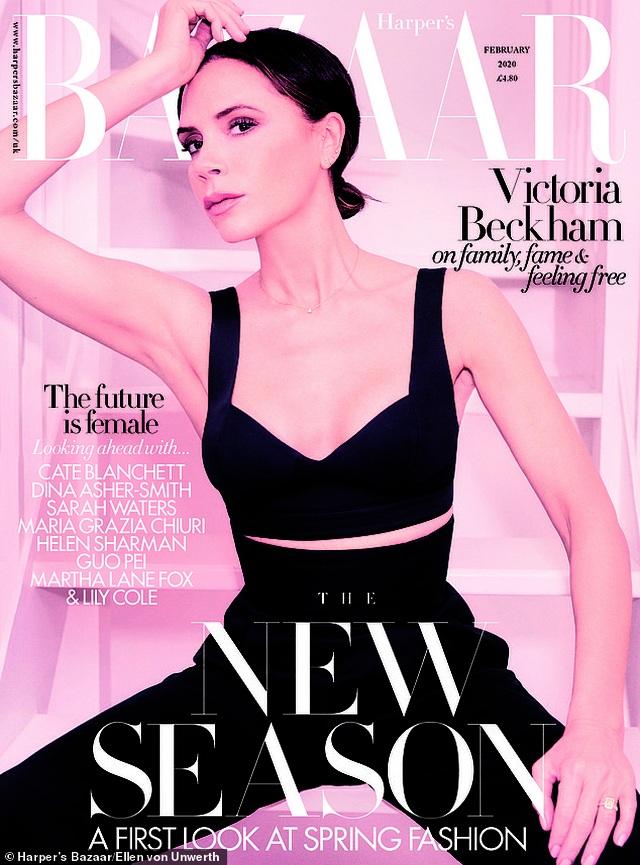 Victoria Beckham tự nhận mình không xinh đẹp - 1