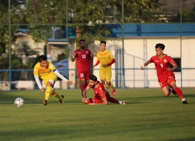 Đình Trọng bất ngờ đá chính, U23 Việt Nam thua U23 Bahrain - 5