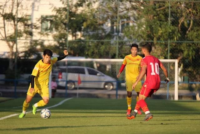 Đình Trọng bất ngờ đá chính, U23 Việt Nam thua U23 Bahrain - 3