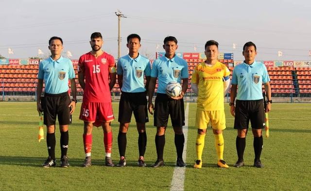 Đình Trọng bất ngờ đá chính, U23 Việt Nam thua U23 Bahrain - 1