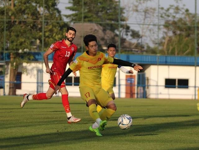 Đình Trọng bất ngờ đá chính, U23 Việt Nam thua U23 Bahrain - 4