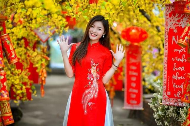 Á khôi Tài sắc Việt Nam rạng ngời chào đón mùa Xuân - 1