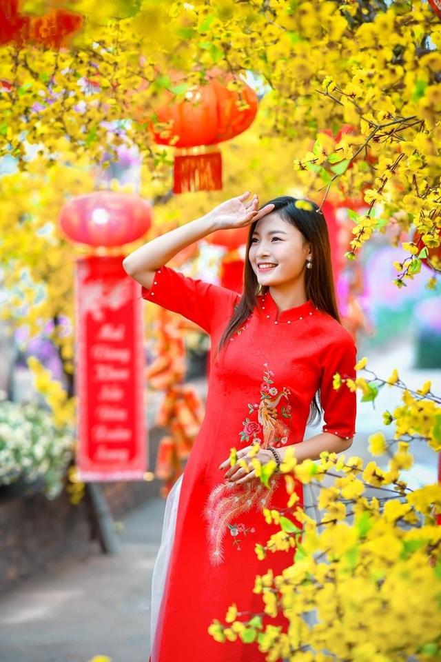 Á khôi Tài sắc Việt Nam rạng ngời chào đón mùa Xuân - 3