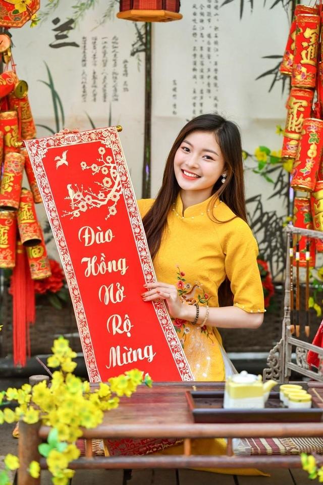 Á khôi Tài sắc Việt Nam rạng ngời chào đón mùa Xuân - 4
