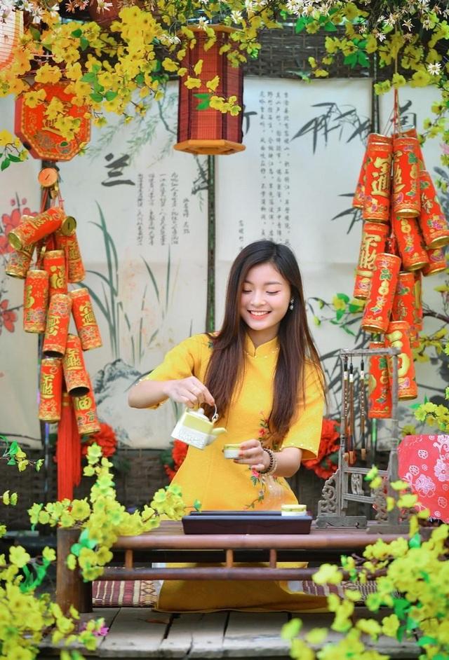 Á khôi Tài sắc Việt Nam rạng ngời chào đón mùa Xuân - 6