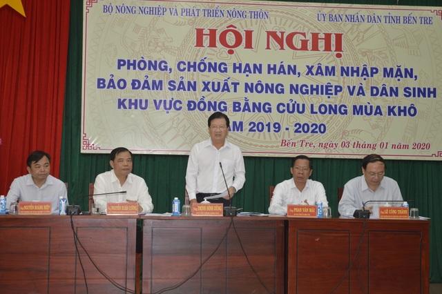 Phó Thủ tướng: Nguy cơ thiếu nước ngày càng gia tăng đối với Việt Nam - 1