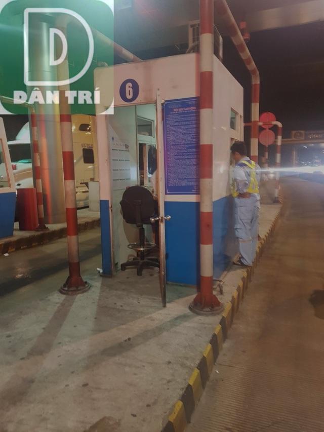 Bắt khẩn cấp nghi can cướp tiền tại trạm thu phí đường cao tốc - 2
