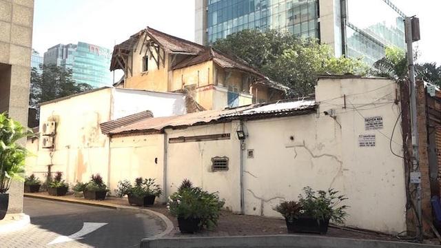 Biệt thự cổ tại TPHCM còn nguyên vẹn nhưng trên văn bản là khu đất trống - 1