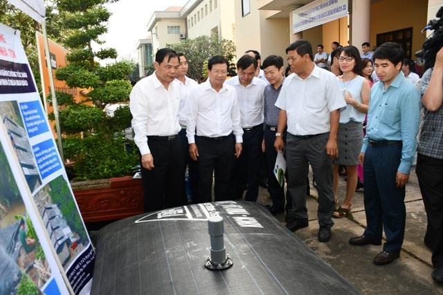 Phó Thủ tướng: Nguy cơ thiếu nước ngày càng gia tăng đối với Việt Nam - 3