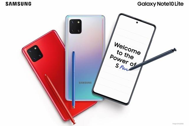 Samsung trình làng bộ đôi giá rẻ Galaxy S10 Lite và Note10 Lite  - 2