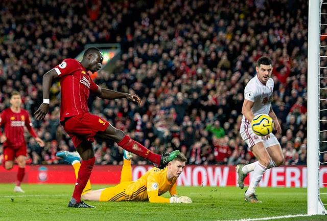 Salah và Mane lập công, Liverpool có chiến thắng đầu tiên trong năm 2020 - 4