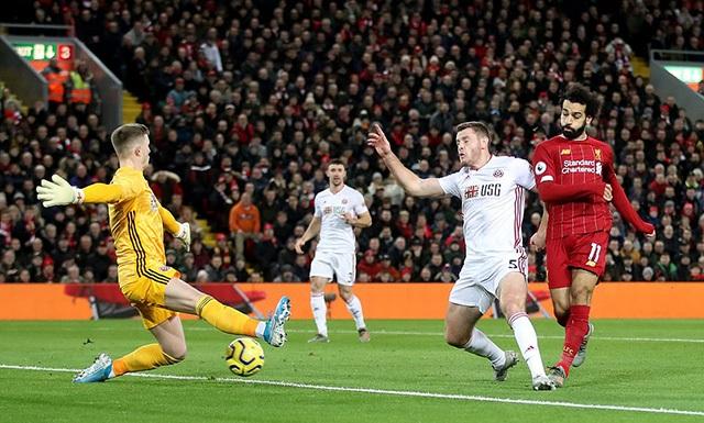 Salah và Mane lập công, Liverpool có chiến thắng đầu tiên trong năm 2020 - 1
