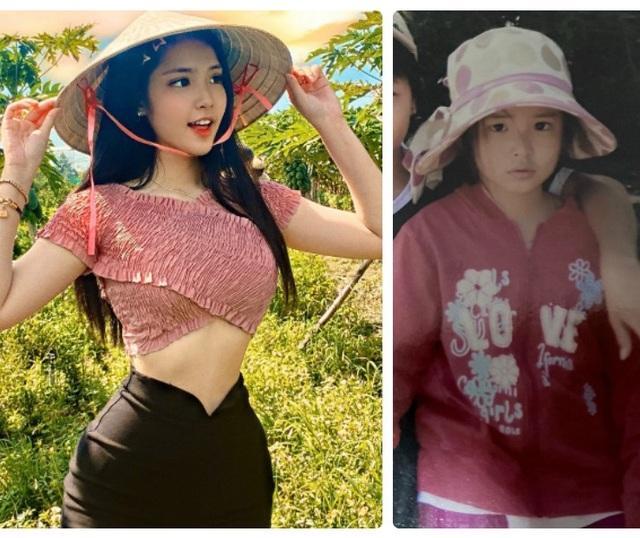 Nữ sinh lai Việt - Trung xinh đẹp, sở hữu vòng eo 56cm  - 2
