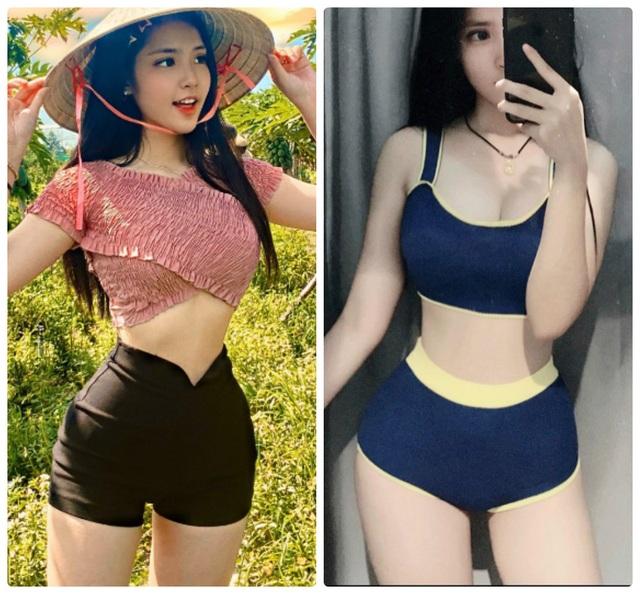 Nữ sinh lai Việt - Trung xinh đẹp, sở hữu vòng eo 56cm  - 4