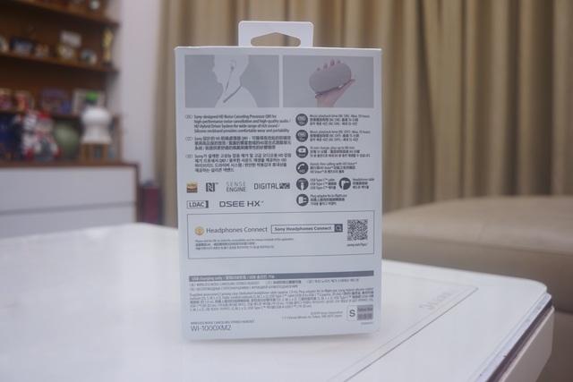 Mở hộp tai nghe chống ồn WI-1000XM2 giá 6,99 triệu vừa ra mắt của Sony - 2