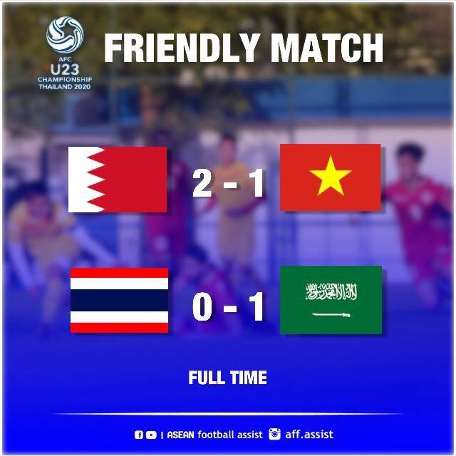 U23 Thái Lan thất bại trước thềm giải U23 châu Á - 1