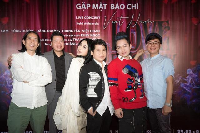 Thanh Lam đối thoại với tam ca Đăng Dương - Trọng Tấn - Việt Hoàn - 3