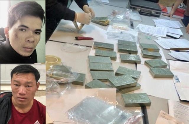 Hà Nội: Khởi tố vụ án 2 thanh niên mua bán 23 bánh heroin - 1