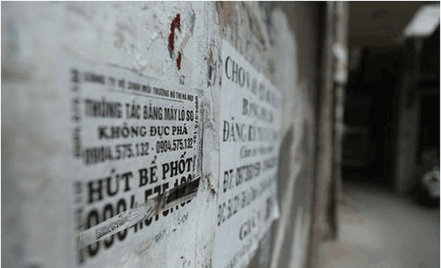 Giật mình: Dịch vụ hút bể phốt tại Hà Nội cũng lắm chiêu trò - 2