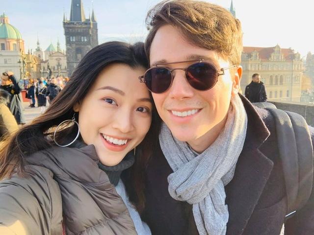 Hạnh phúc đáng ngưỡng mộ của 2 MC Việt xinh đẹp lấy chồng Tây năm 2019 - 11