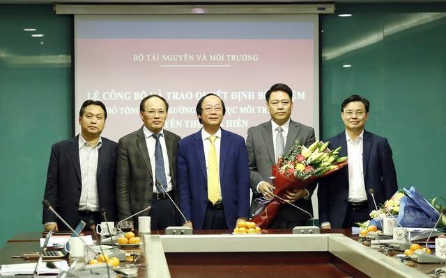 Ông Nguyễn Thượng Hiền làm Phó Tổng cục trưởng Tổng cục Môi trường - 2