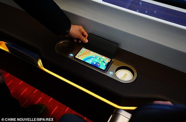 Tàu cao tốc thông minh của Trung Quốc có tốc độ 350 km/h, lái tự động và tín hiệu 5G - 3