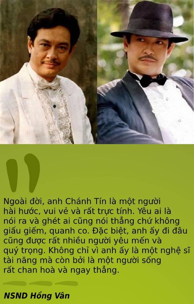 """Vĩnh biệt nghệ sĩ Chánh Tín, """"những vui buồn từ nay khép lại""""..."""
