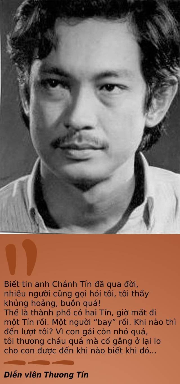 """Vĩnh biệt nghệ sĩ Chánh Tín, """"những vui buồn từ nay khép lại""""... - Ảnh minh hoạ 2"""
