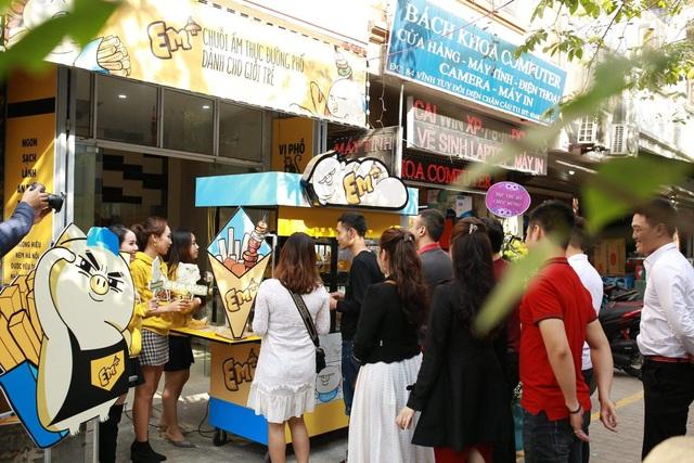 Ra mắt Mô hình kinh doanh chuỗi ẩm thực đường phố trải nghiệm đầu tiên dành cho giới trẻ Em+ - 4