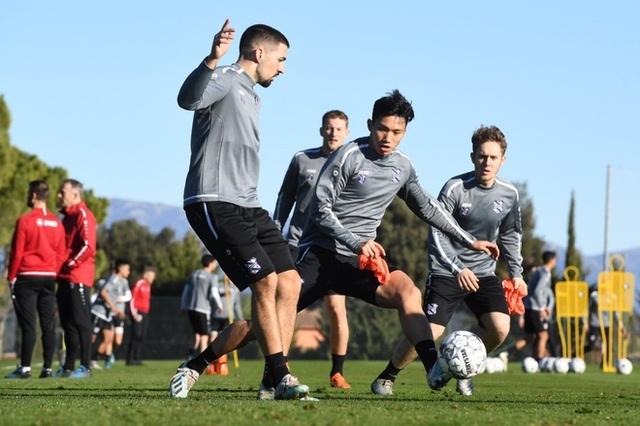 Đoàn Văn Hậu tập luyện cùng SC Heerenveen tại Tây Ban Nha - 3