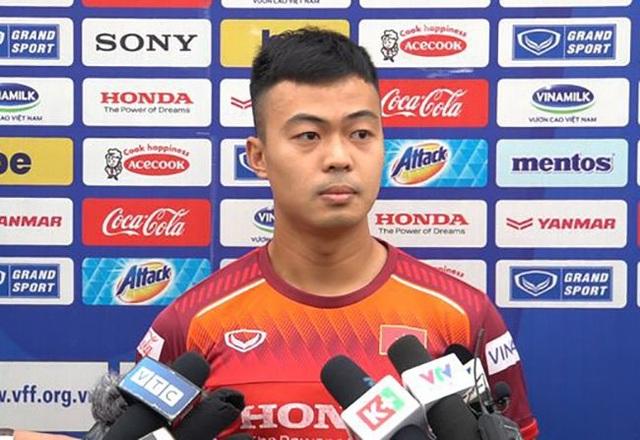 Thanh Thịnh khao khát được đá trận ra quân gặp U23 UAE - 1