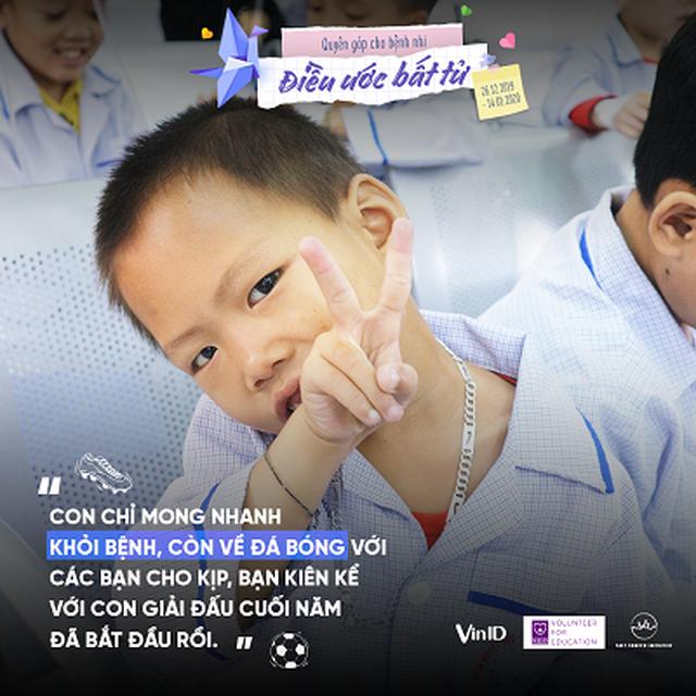 """Cùng VinID gây quỹ """"Điều ước bất tử"""" cho các em bệnh nhi ung thư dịp Tết - 3"""