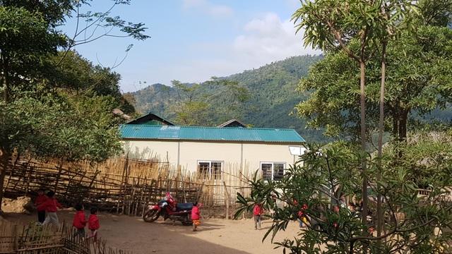 Báo Dân trí khánh thành điểm trường Mầm non sát biên giới Việt - Lào - 15