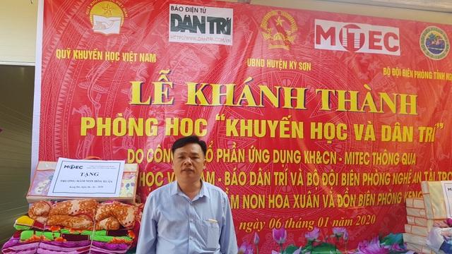 Báo Dân trí khánh thành điểm trường Mầm non sát biên giới Việt - Lào - 2
