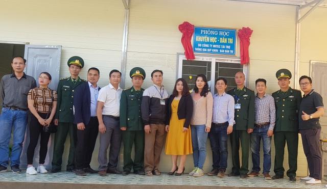 Báo Dân trí khánh thành điểm trường Mầm non sát biên giới Việt - Lào - 14