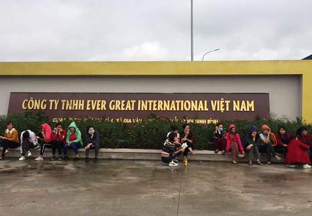 Ninh Bình: Hơn 1.000 công nhân làm việc lại sau khi đình công đòi thưởng Tết - 2