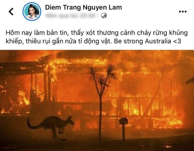 Ám ảnh đại thảm hoạ cháy rừng, dàn sao Việt nguyện cầu cho nước Úc - 5