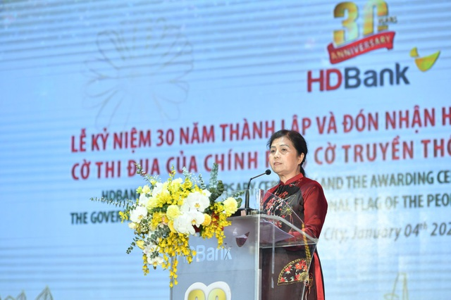 30 năm thành lập và phát triển, HDBank đón nhận Huân chương Lao động - 1