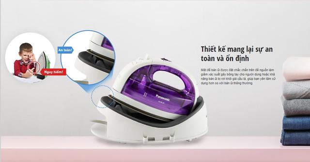Bàn ủi không dây: Công nghệ thay đổi cuộc sống phụ nữ Việt - 2