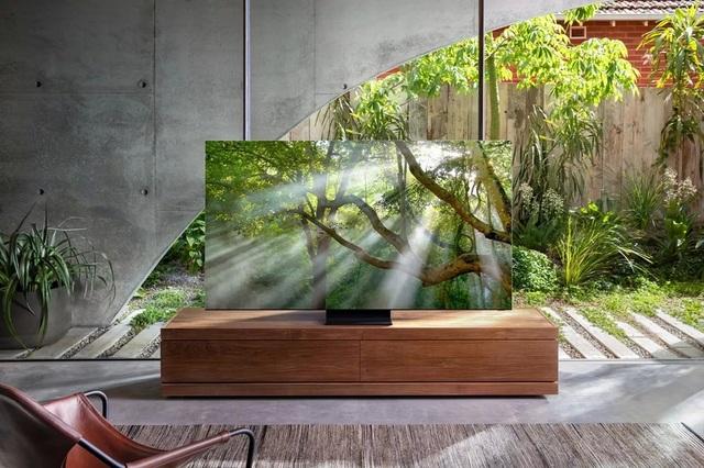 Samsung trình làng TV 8K không viền màn hình và TV 292 inch tại CES 2020