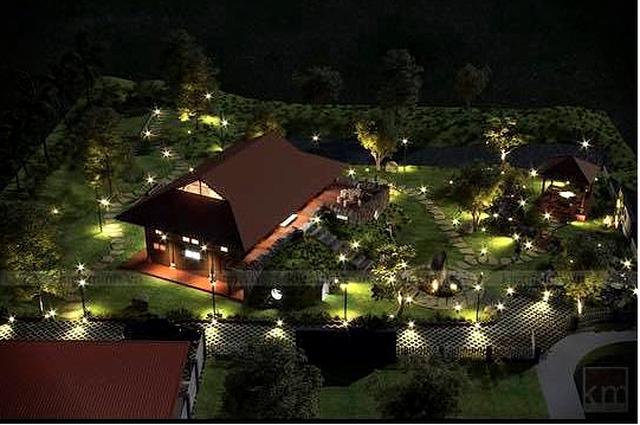 """Nhà vườn hoành tráng 4 mùa rợp bóng cây xanh của """"Nam Tào"""" Xuân Bắc - 4"""