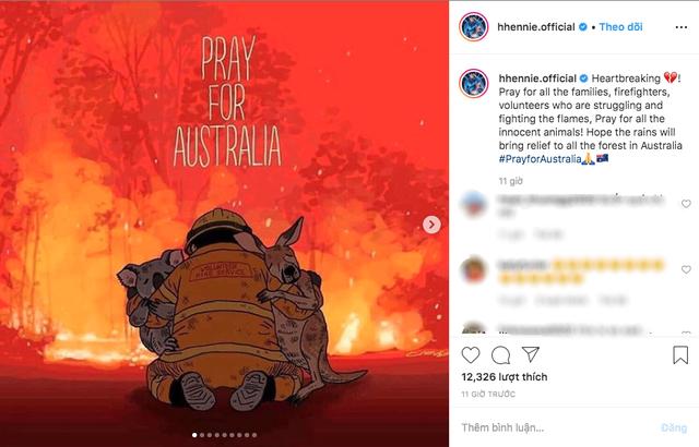 Ám ảnh đại thảm hoạ cháy rừng, dàn sao Việt nguyện cầu cho nước Úc - 2