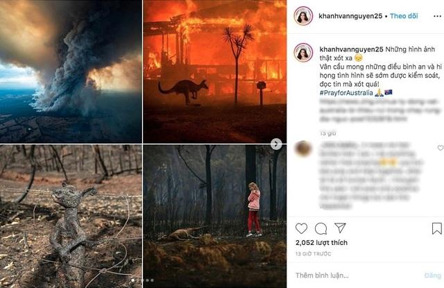 Ám ảnh đại thảm hoạ cháy rừng, dàn sao Việt nguyện cầu cho nước Úc - 4